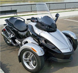 "NEW 2008-2017 Can Am Spyder RS 23"" Clear WIndshield Custom made in USA"