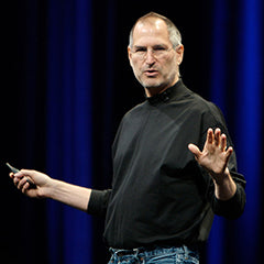 Steve Jobs built a tech empire dressed in jeans and a black turtleneck