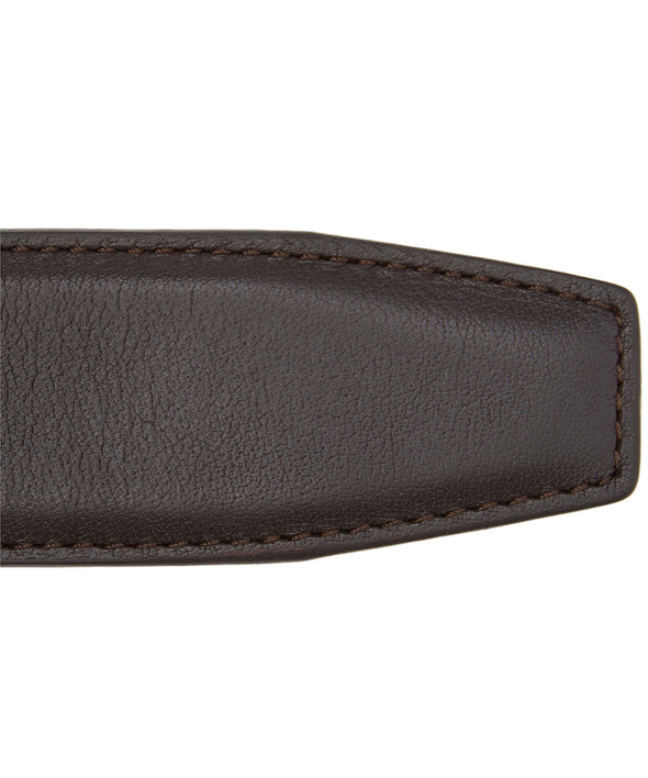 Smooth Brown Nappa Calf Leather Belt - Anderson's