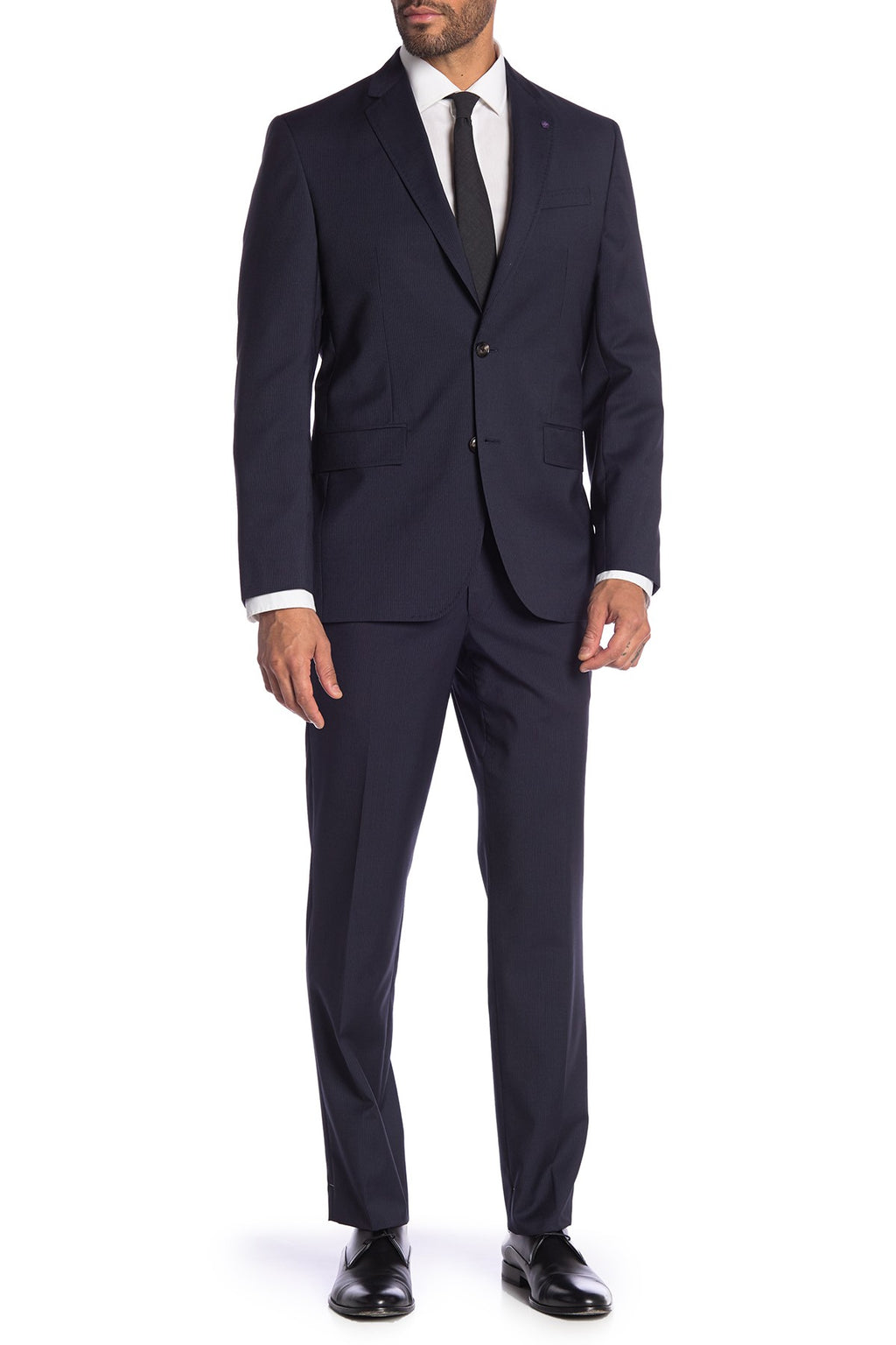"""JAY"" Blue Pinstripe • Slim Fit Suit •"