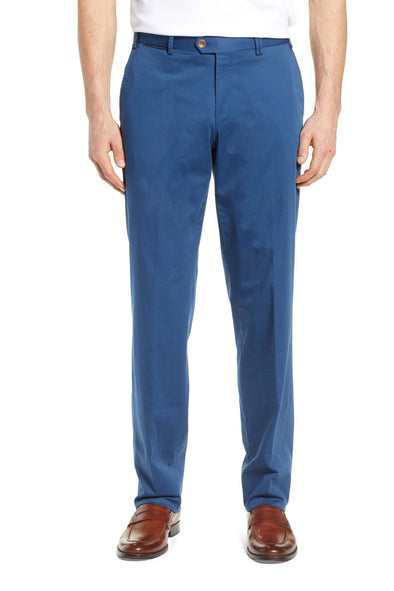 Royal Blue Teaker Slim Fit Chinos