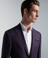 """CONWAY"" Sangria Travel Blazer • Modern Fit"