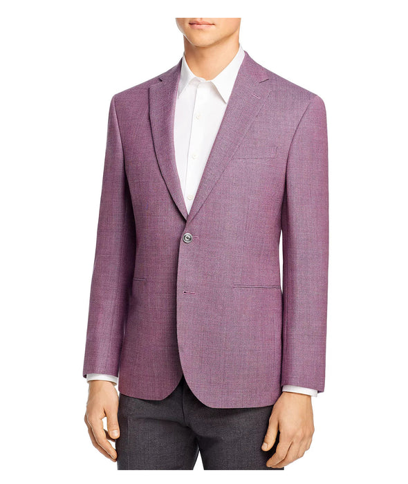 Basketweave Mélange Lavender Wynn Slim Fit Sport Coat