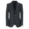 Navy Alpaca Graph Check Unconstructed Sport Coat