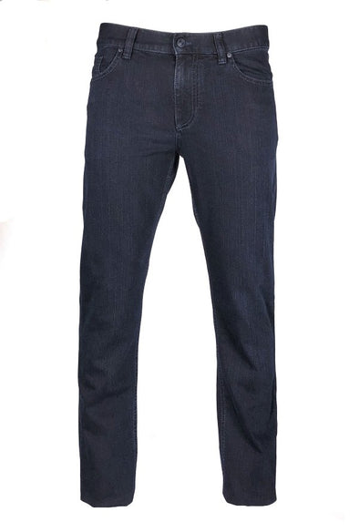Dark Indigo 'PIPE' T400 DARK Wash