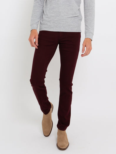Transcend – Lennox Dark Ruby - Slim Fit Jeans - PAIGE