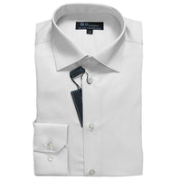 Pearl Grey Dress Shirt • Slim Fit • Non-iron