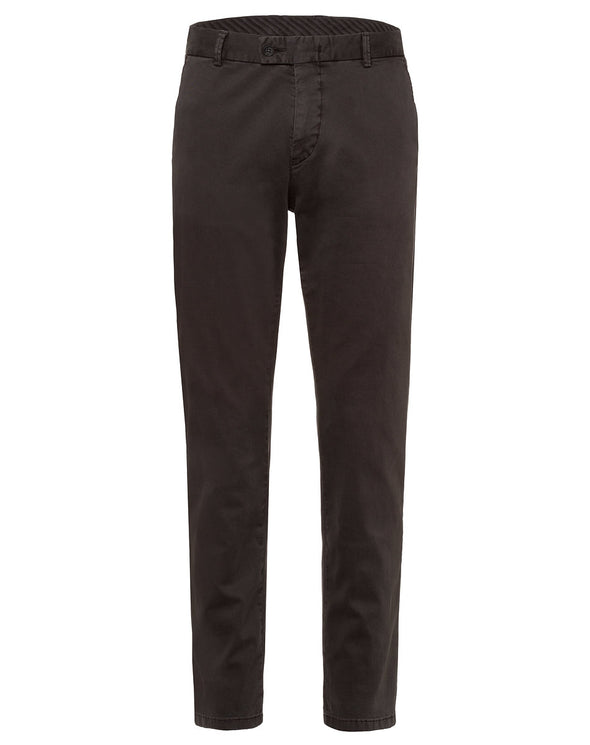 Charcoal Contemporary Fit Stretch Chino