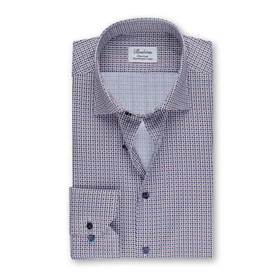 Dotted Fitted Body Shirt - Stenströms