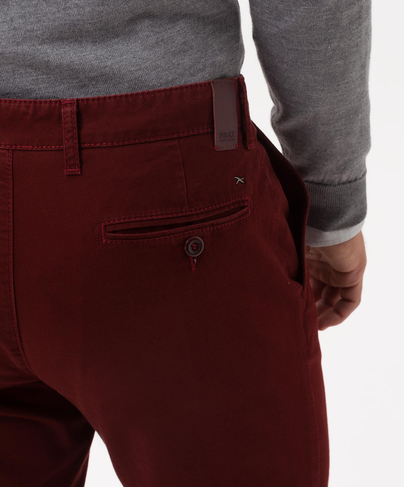 """Felix "" • Port • Hi-Flex • Cotton Chinos • Slim Fit"