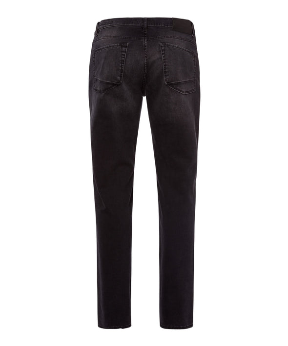Black Used Chuck Hi-FLEX Slim Fit Jeans