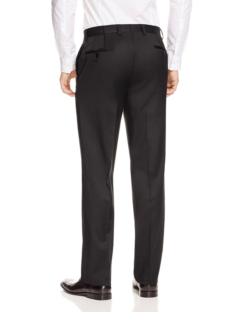KOLT • Black • Modern Fit Trouser • Loro Piana