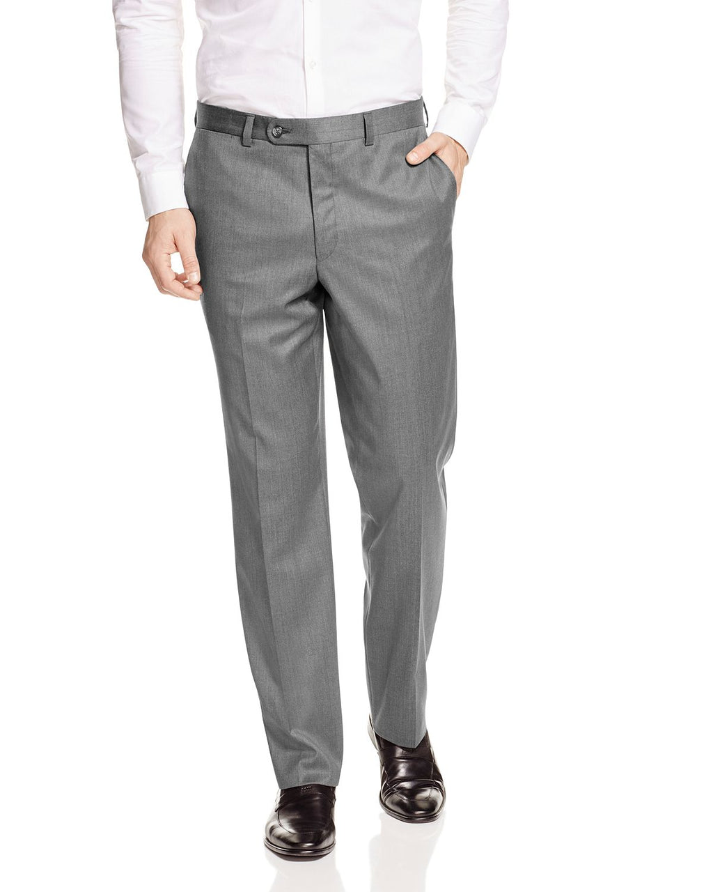 KOLT • Light Grey • Modern Fit Trouser • Loro Piana