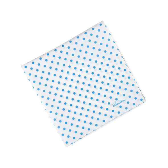 Polka Dot Cotton Hankie - Stenströms