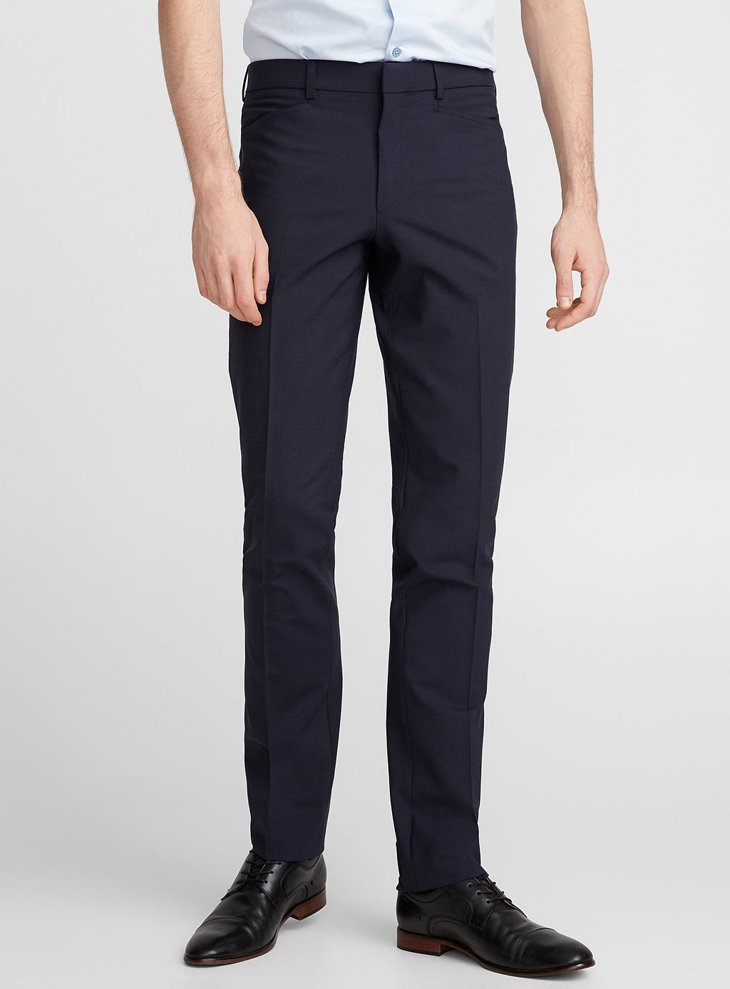 Franco • Navy • Travel Pants • Slim Fit • Stretch • Riviera by Jack Victor •