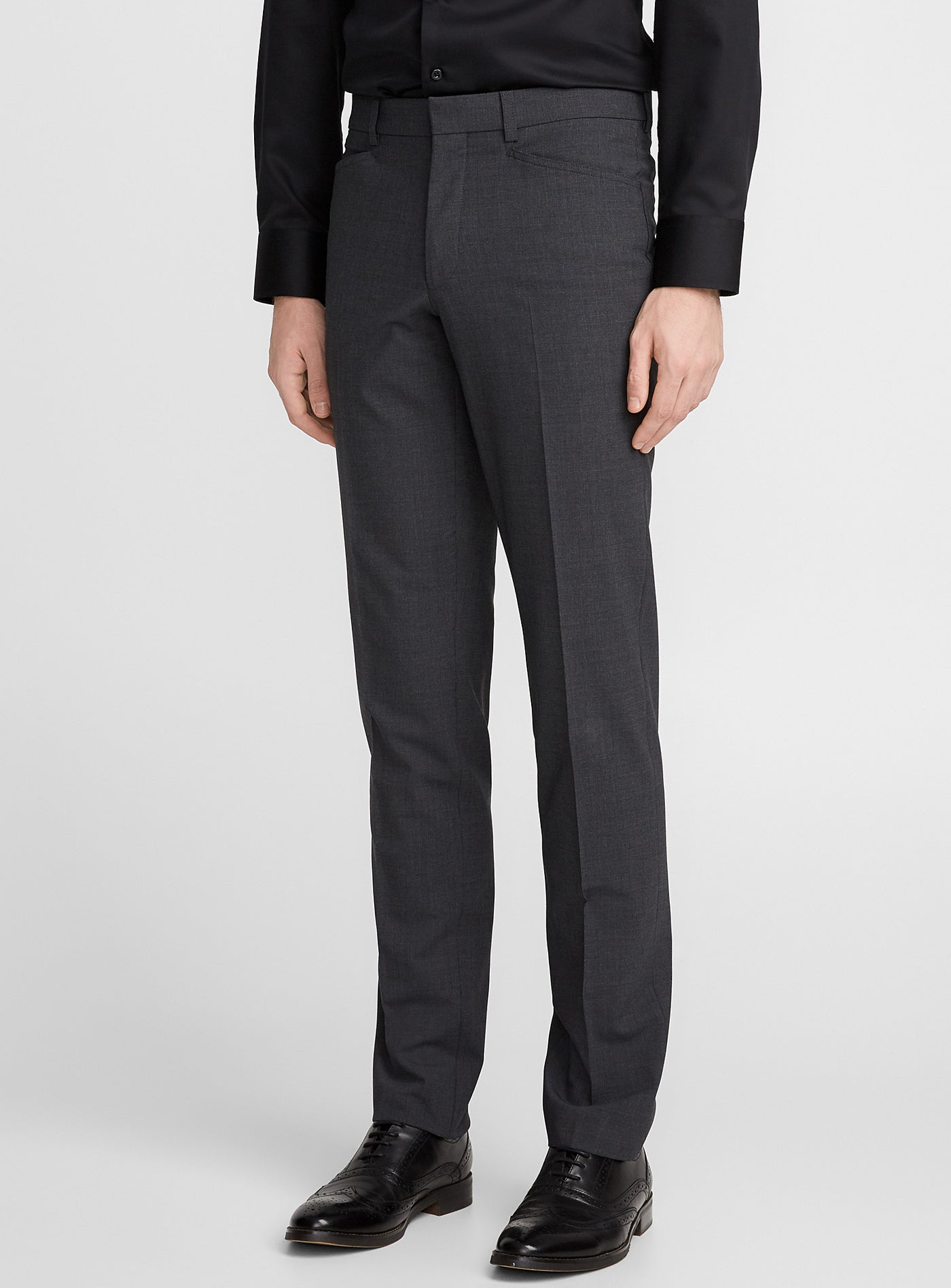 8d2ab1ca4c12 Franco • Charcoal • Travel Pants • Slim Fit • Stretch • Riviera by Jack  Victor ...