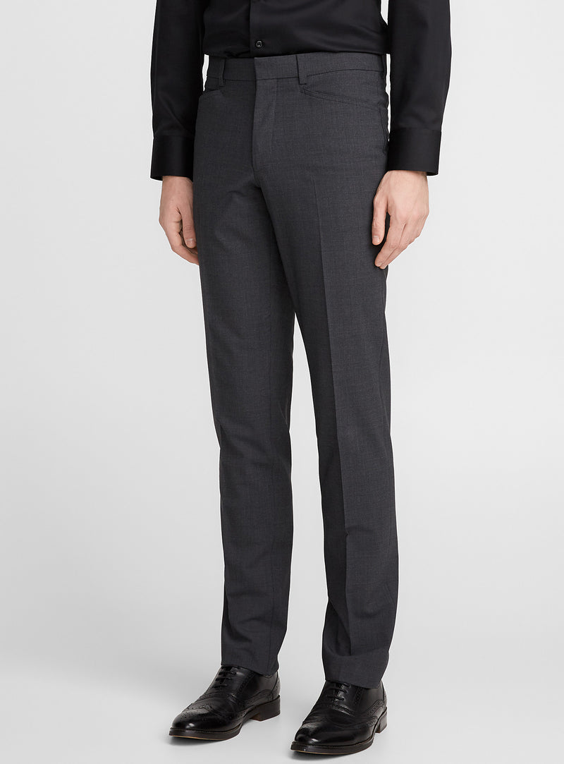 Franco • Charcoal • Travel Pants • Slim Fit • Stretch • Riviera by Jack Victor •