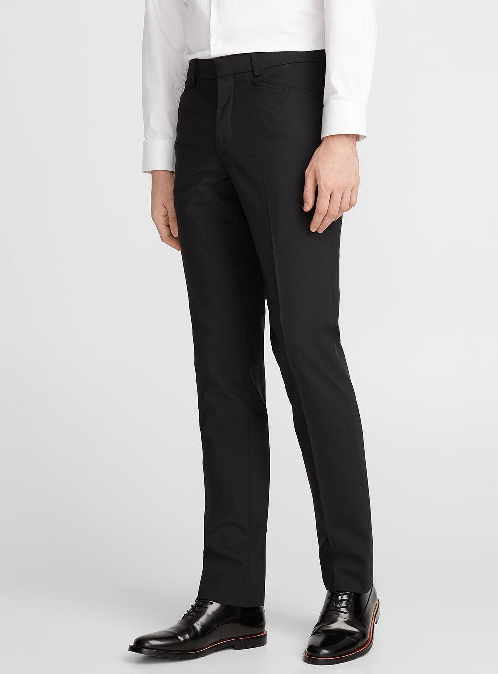Franco • Black • Travel Pants • Slim Fit • Stretch • Riviera by Jack Victor •