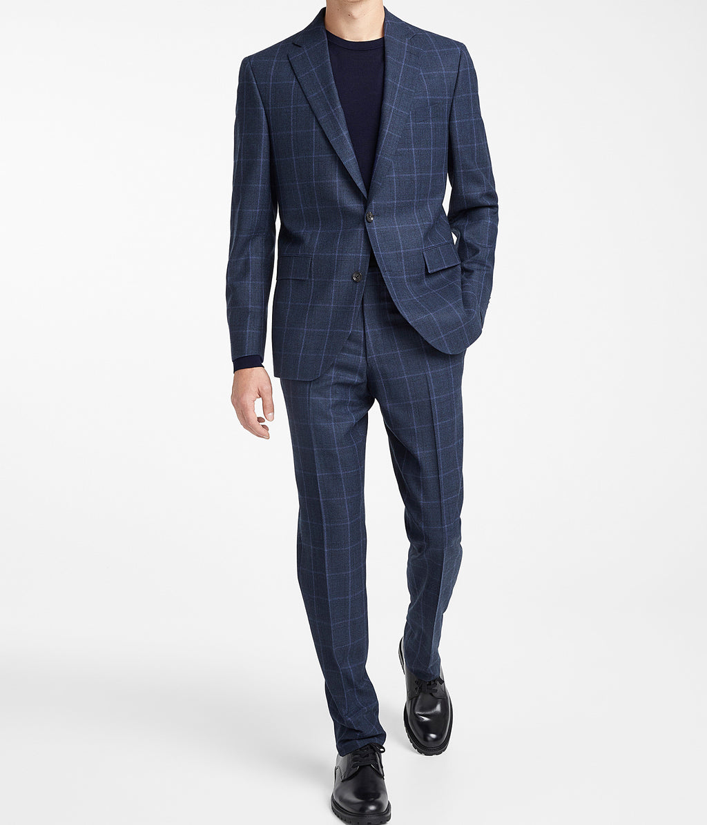 Blue Check - Midland - Modern Fit