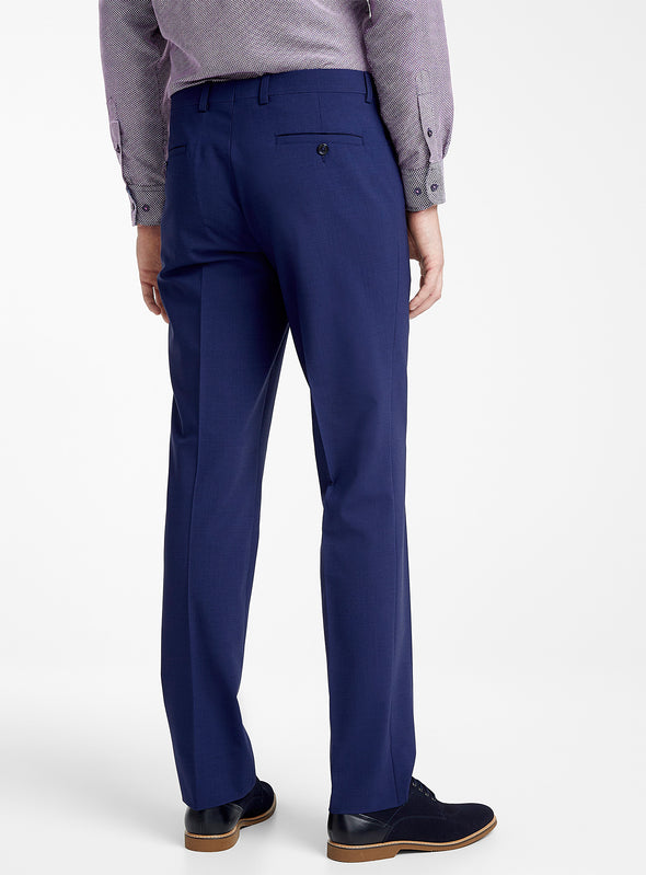 Royal Blue Franco Slim Fit Trousers