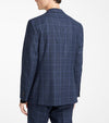 Jack Victor - Blue Check - Midland - Contemporary Fit
