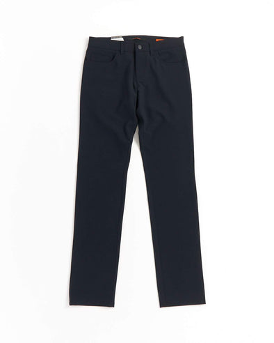 ALBERTO - PIPE Ceramica Navy 5 Pocket Dress Pants