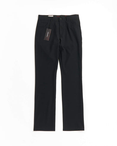 ALBERTO - STONE Ceramica Black 5 Pocket Dress Pants