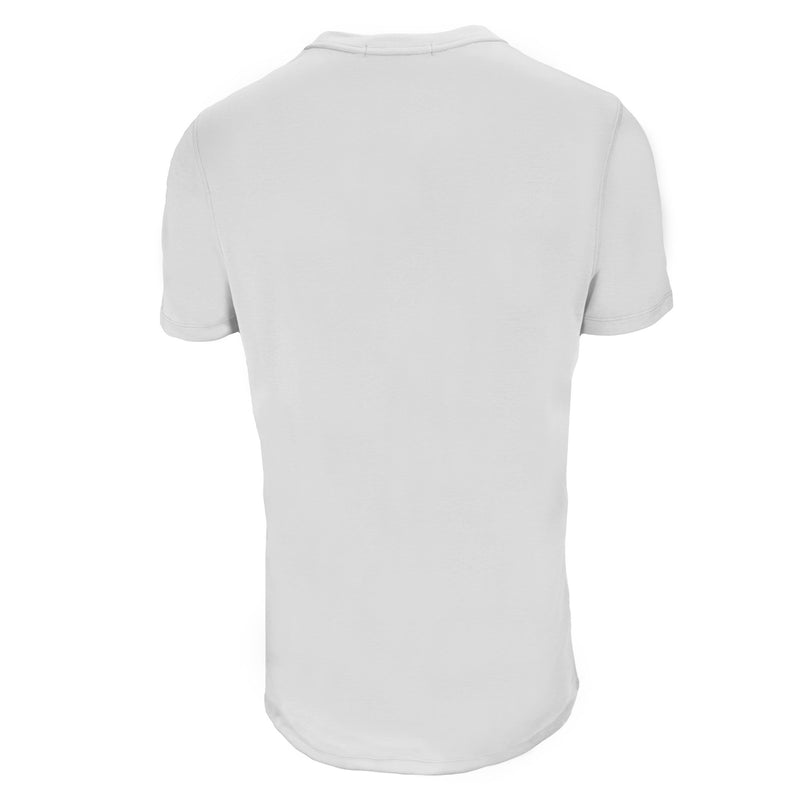 Luxurious White Pima Crew Neck T-Shirt