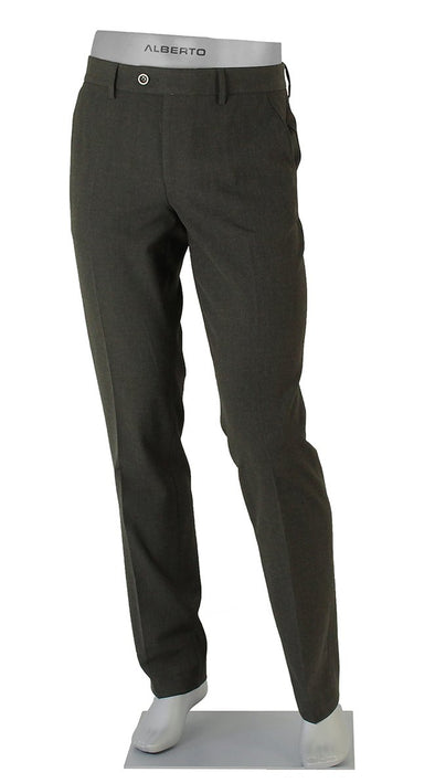 ALBERTO - George Ceramica Charcoal Dress Pants