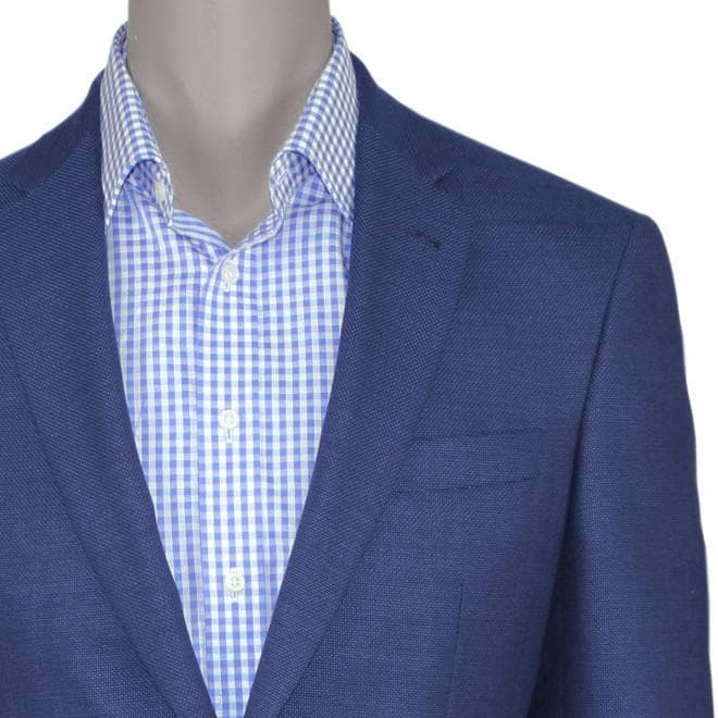 Dark Blue Travel Blazer • Slim Fit