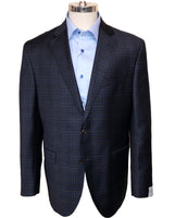 """CONWAY"" • Blue Check • MODERN FIT • SPORT JACKET"