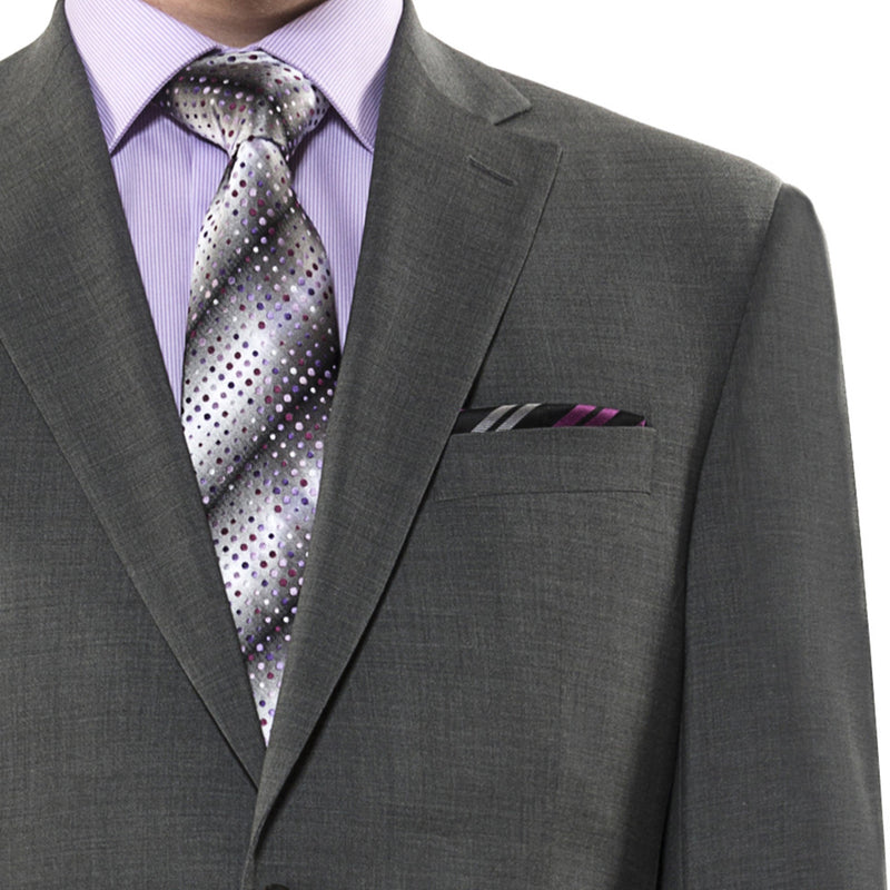 Mid-grey suit by Jack Victor