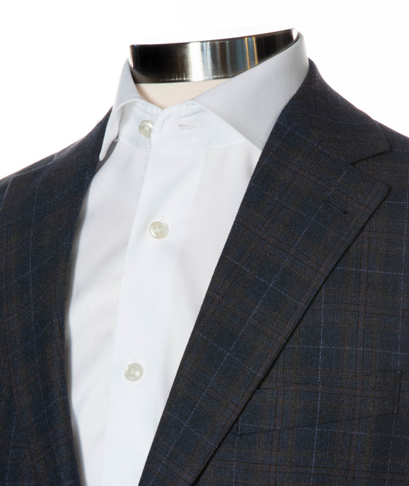 Midland Check Contemporary Fit Sport Coat