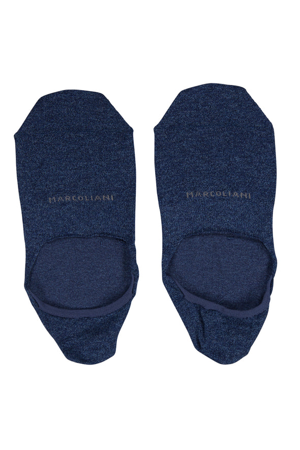 Nautical Marl Invisible Touch No-Show Socks