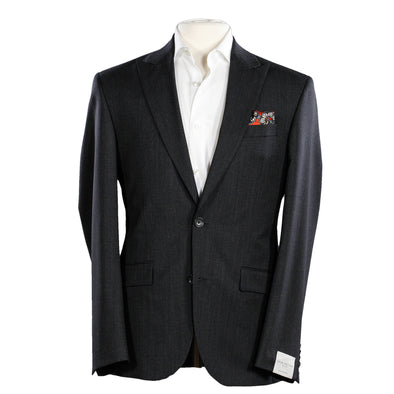 Grey Pin Check - Slim Fit Sartorial Suit