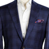 Blue Glen Check - Contemporary Fit -  Jack Victor