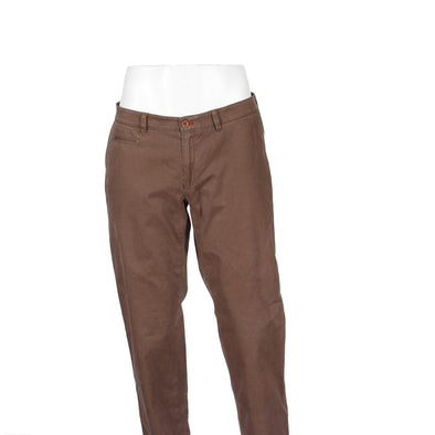 Cashew Cotton Stretch Chino Contemporary Fit