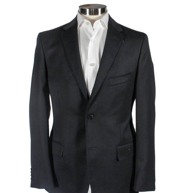 Black Contemporary Fit Sport Coat