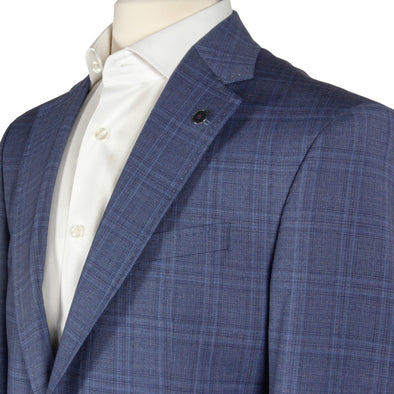 Ted Baker - Blue Check Suit Jay Slim Fit