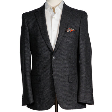 Charcoal Tweed Contemporary Fit Sport Coat
