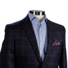 Blue Check Contemporary Fit Sport Coat