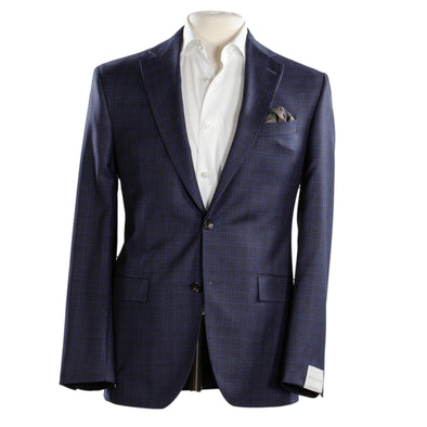 Jack Victor - Blue Check  -  Esprit - Modern Fit