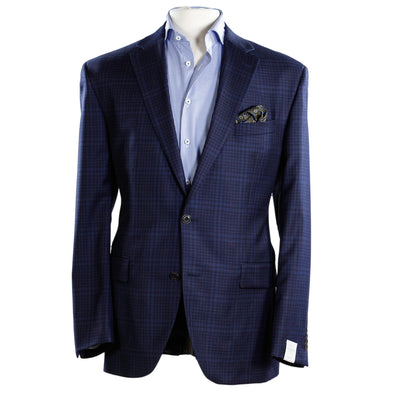 Jack Victor - Blue Check Classic Fit