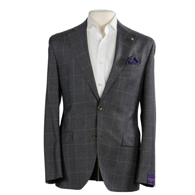 McAllen Gray Check Contemporary Fit Suit 1913 Collection