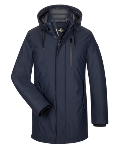 Navy Oslo 3M Waterproof Lightweight Winter Coat