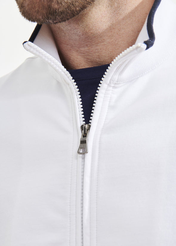 Pima Cotton French Terry Track Jacket - Patrick Assaraf