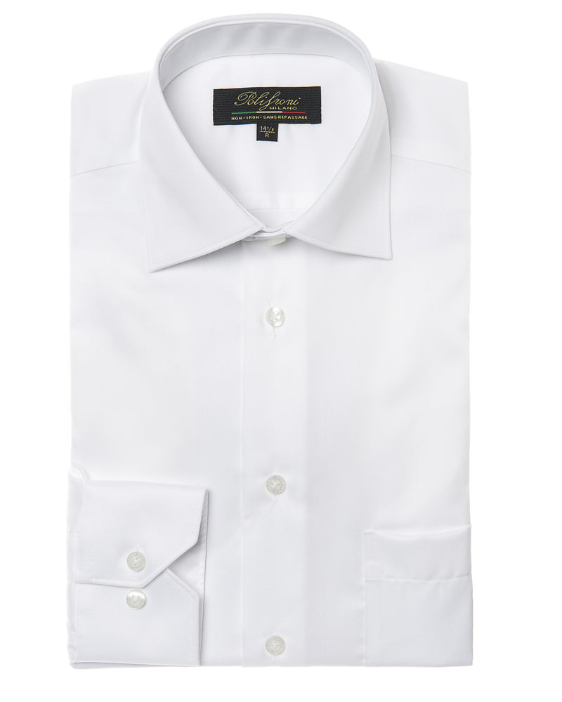 White dress shirt by Polifroni