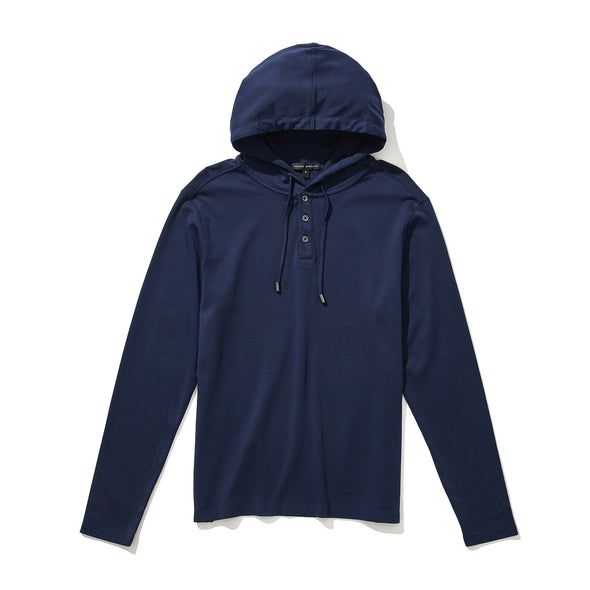 Blue Night Georgia Pullover Hoodie