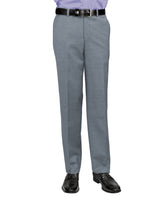 Banker's grey travel pants from Riviera by Jack Victor