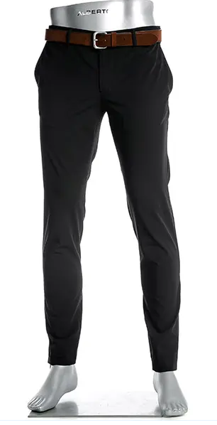 Ceramica Rob Slim Fit Stretch Charcoal Dress Pant